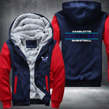 NBA CHARLOTTE HORNETS THICK FLEECE JACKET