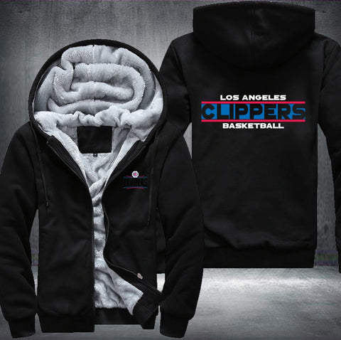 NBA L.A. CLIPPERS THICK FLEECE JACKET