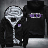 NBA SACRAMENTO KINGS THICK FLEECE JACKET