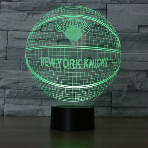 NBA NEW YORK KNICKS 3D LED LIGHT LAMP 7aba2cba4