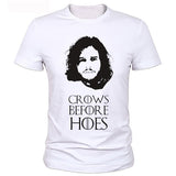 Game Of Thrones Jon Snow Crows Before Hoes Night's Watch Tshirt - TshirtNow.net - 1