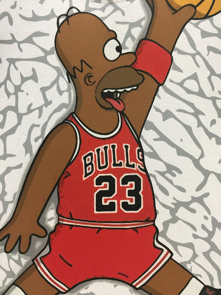 the simpsons homer simpson chicago bulls basketball