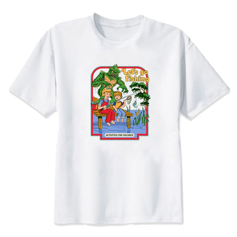 Childhood Let's Go Fishing Tshirt