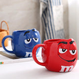 Creative And Stylish All New Beans Expression Ceramic Coffee/Tea Mugs