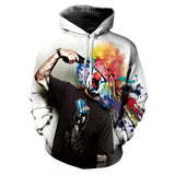 Clown Suicide Allover 3D Print Hoodie