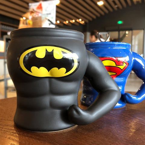 Superman Hero Macho Ceramic Glass Coffee/Tea mug