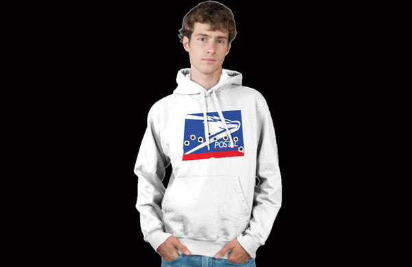 Wonder Bread Logo Parody Spoof Hoodie: Wasted Logo on White Colored Hoodie Hoody Sweatshirt - TshirtNow.net