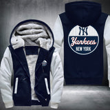 MLB NEW YORK YANKEES THICK FLEECE JACKET
