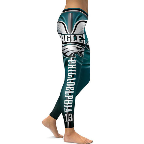 PHILADELPHIA EAGLES 3D Allover Print Womens Leggings Yoga Pants
