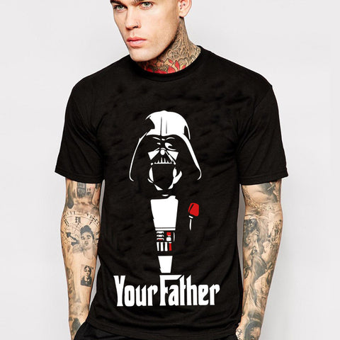 Star Wars Darth Vader Your Father The Godfather Spoof Tshirt