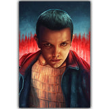 Stranger Things TV Movie Poster Silk Art Print Poster