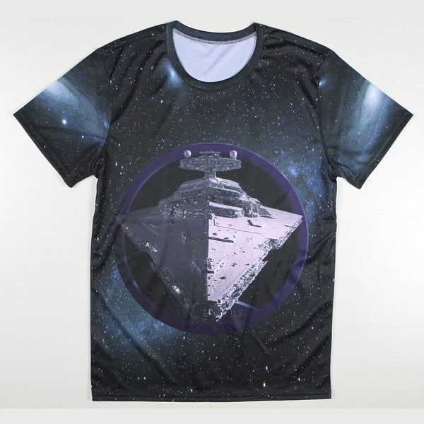 Star Wars Star Destroyer 3D Allover Print Tshirt - TshirtNow.net - 1
