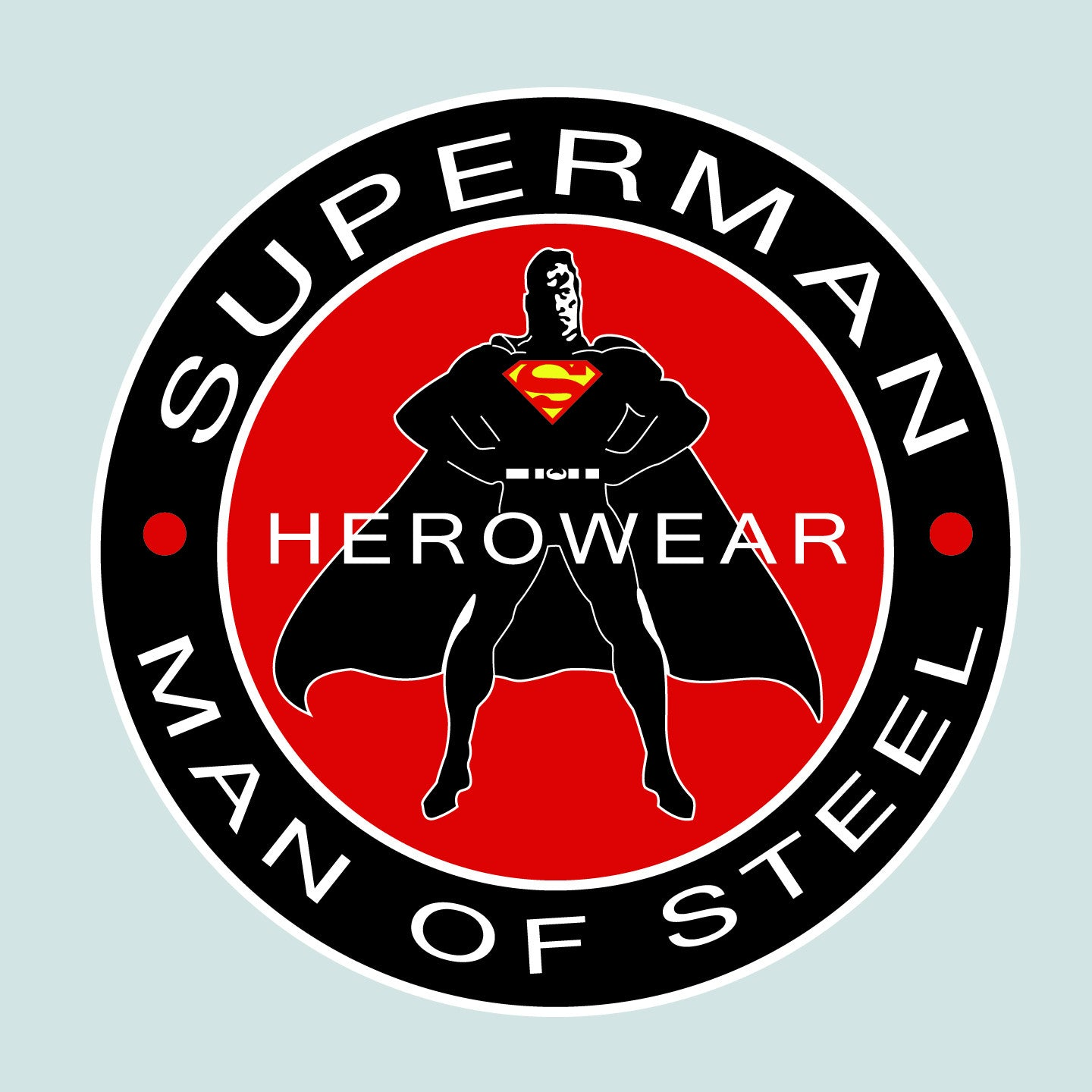 667c92ea66587 Superman Herowear Round Logo on Ash Gray Fitted Sheer Tank Top for Women -  TshirtNow.