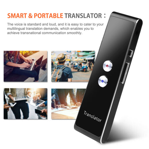 Multi-Language Speech Interactive Portable Smart Voice Translator