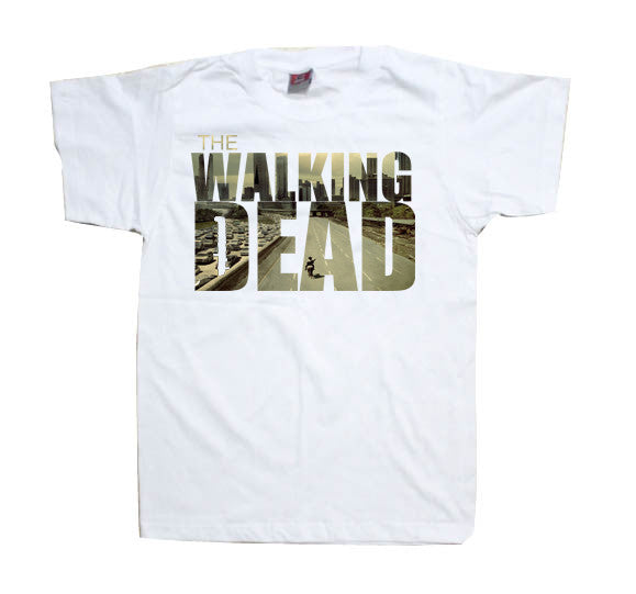 The Walking Dead Skyline Tshirt - TshirtNow.net