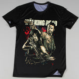The Walking Dead 3D Oversize Print Rick and Daryl Ringer Tshirts - TshirtNow.net - 3