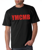 Ymcmb Tshirt: Black With Red Print - TshirtNow.net - 1