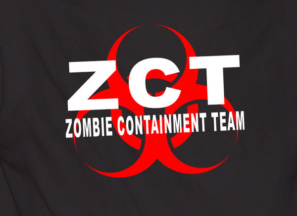Zct Zombie Containment Team - TshirtNow.net - 1