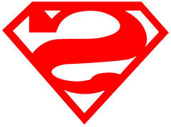 Superman Bizarro Logo Decal