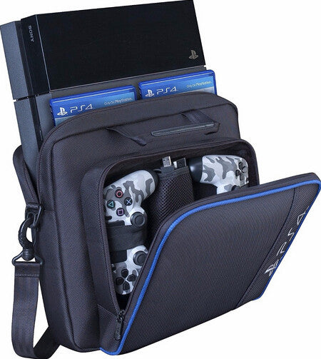 Game Console and Accessories Padded Shoulder Carrying Case For PlayStation 4, PS4 - TshirtNow.net