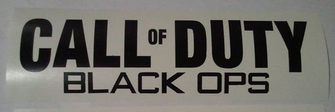 Call of Duty Black Ops Vinyl Decal 2 Packsale Price