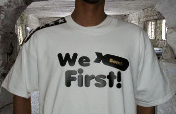 We Bomb First, Five Star G Tshirt