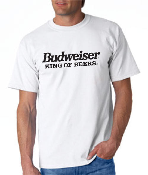 Budweiser King of Beer Tshirt - TshirtNow.net - 1