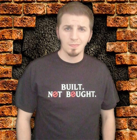 Built Not Bought GhostBusters NH Tshirt