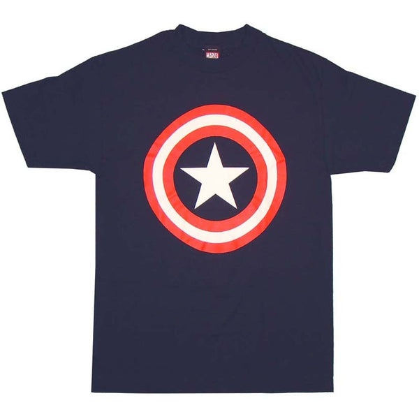 Captain America Shield Logo Tshirt - TshirtNow.net - 1