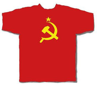 CCCP USSR Soviet Union Hammer and Sickle Tshirt