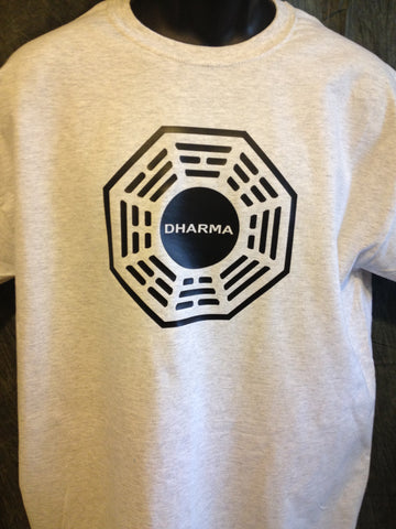 Lost Dharma Initiative Logo Tshirt