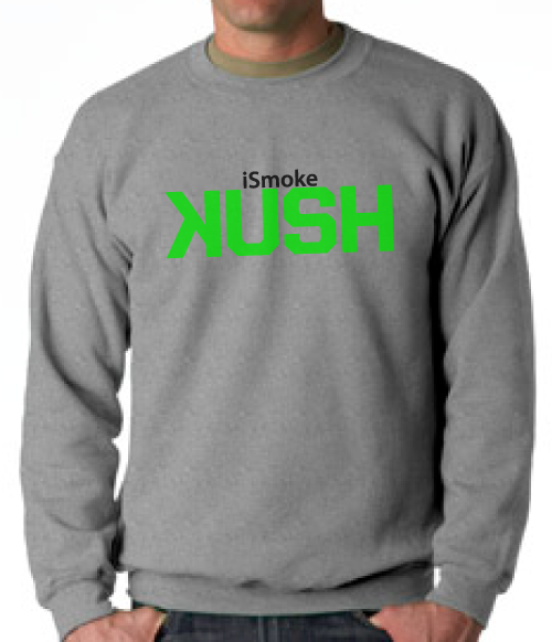 "The Connect ""Ismoke Kush"" Crewneck - TshirtNow.net"