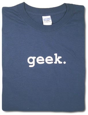 Geek Tshirt: Black With White Print - TshirtNow.net