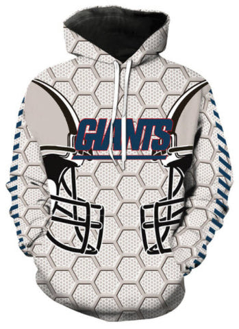 New York Giants Allover 3D Print Hoodie 9fa1a1393