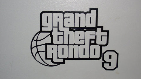Grand Theft Rondo Logo Decal
