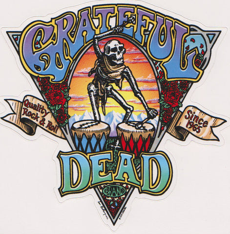Grateful Dead Brand Sticker