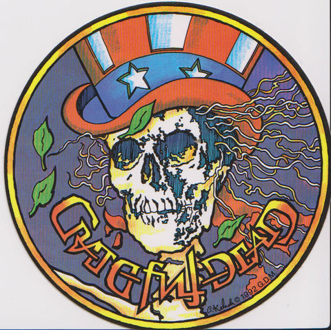 Grateful Dead Physcho Sam Sticker Decal