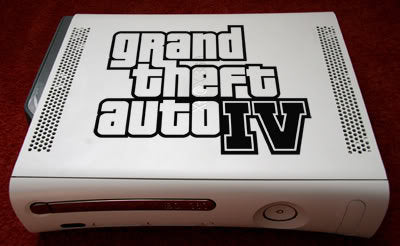 Grand Theif Auto 4 (GTA4) Decal- Sale 50%