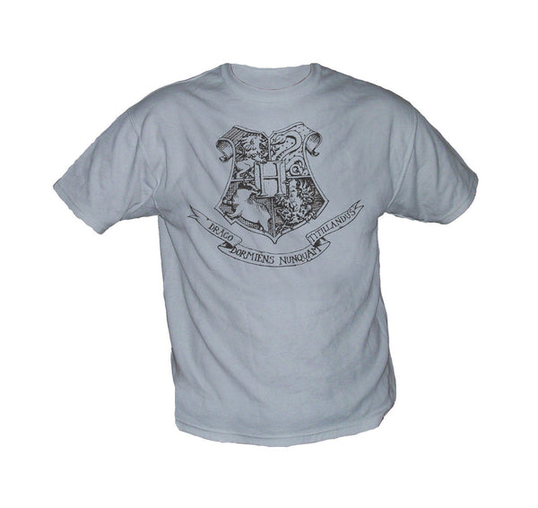 Harry Potter Hogwarts Tshirt White or Grey - TshirtNow.net