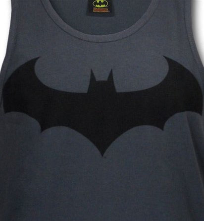 9fc1cfb249aa5 Batman Hush IV Symbol Grey Men s Tank Top - TshirtNow.net - 1