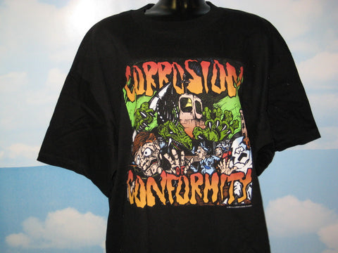 Corrosion of Conformity Adult Black Size XL Extra Large Tshirt