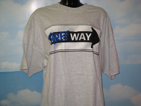 Three Way Adult Natural Size XL Extra Large Tshirt