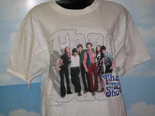That 70's Show Cast Photo Adult White Size L Large Tshirt - TshirtNow.net - 1