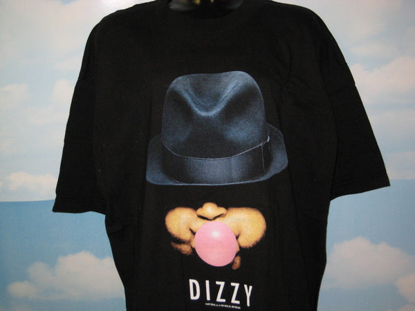Dizzy Gillespie Blues Dizzy Gum Adult Black Size XL Extra Large Tshirt - TshirtNow.net - 1