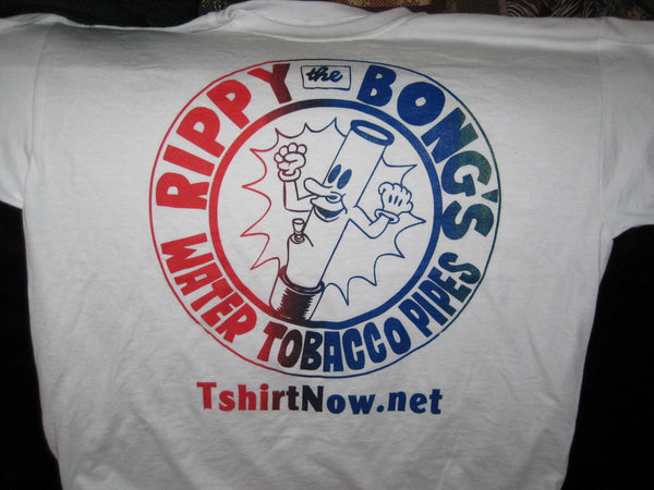 Rippy The Bong White TShirt - TshirtNow.net