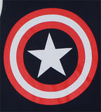 Captain America Shield Logo Navy Men's Tank Top - TshirtNow.net - 3
