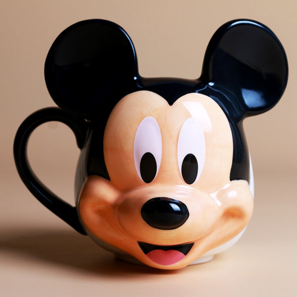 Mickey Mouse Ceramic Coffee/Tea/Milk Cup - Ideal for Disney Lovers