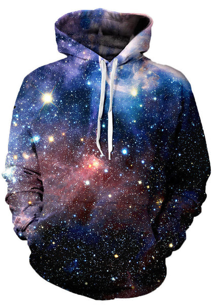 Lush Galaxy Allover 3D Digital Print Hoodie - TshirtNow.net