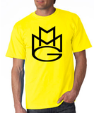 Maybach Music Group MMG Tshirt: Yellow with Black Print - TshirtNow.net - 1