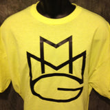 Maybach Music Group MMG Tshirt: Yellow with Black Print - TshirtNow.net - 2